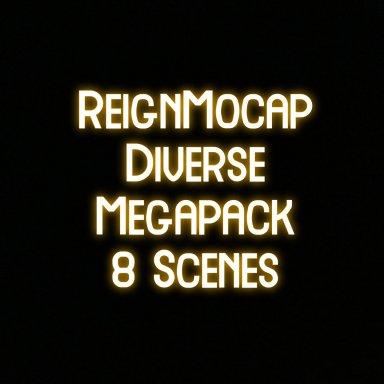 Diverse MegaPack - 8 Motion captured scenes