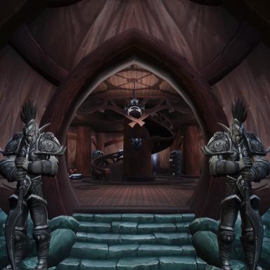 Night Elf mansion DEMO v1.2