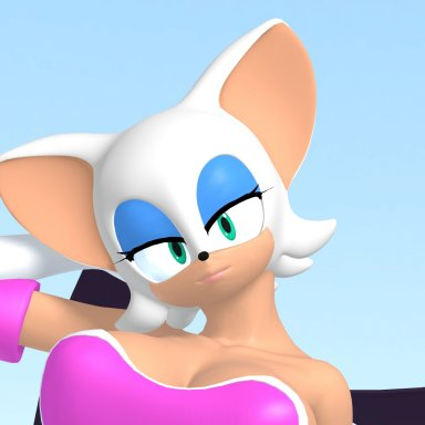 Rouge the bat (Tall version)