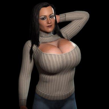 Keyhole Sweater