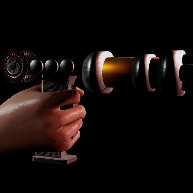 Retro Laser Gun