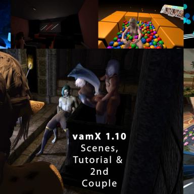 vamX 1.10 - Scenes, Orgies & In-Game Tutorial