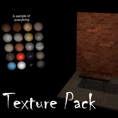 Material texture library