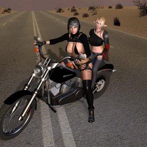 Yselandre & Leafa Biker
