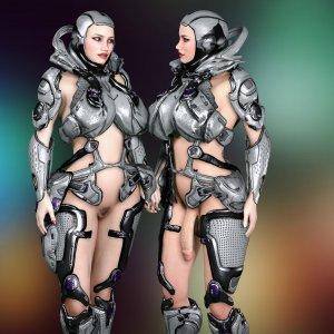 Heleus Armour Set For Futa and Female