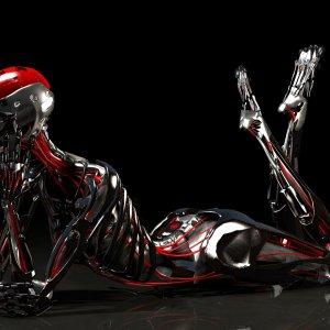 Cyborg skeleton